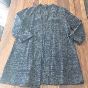 Eileen Fisher kimono open cardigan tunic